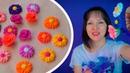 Серединка для заколок / Как сделать серединку для бантов / Шпильки цветы