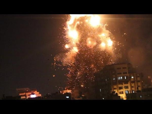 Новый обстрел ХАМАСа из за чего Израиль и сектор Газа обменялись ракетными ударами