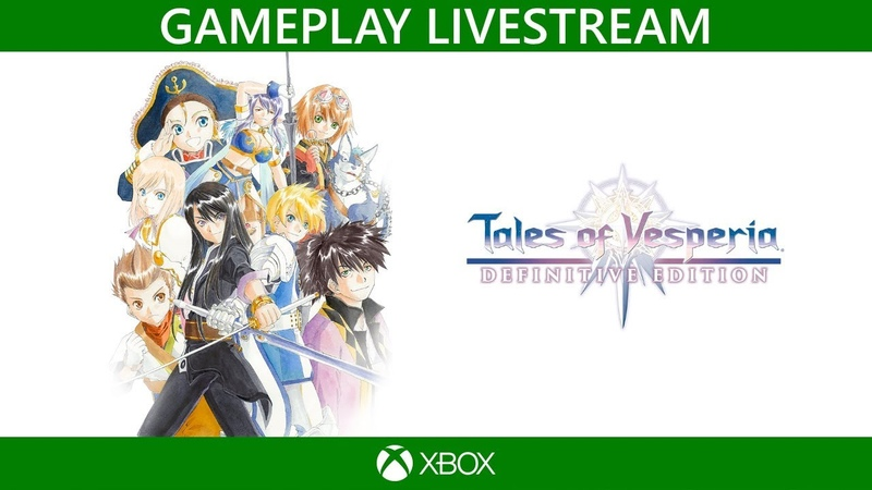 NS\PS4\XBO - Tales of Vesperia Definitive Edition