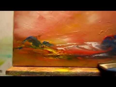 Faire un excercice à la peinture à l huile