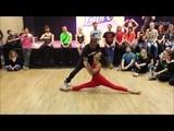 Carlos &amp Fernanda Da Silva - Improvised dance demo (Zouk Libre Festival 2016)
