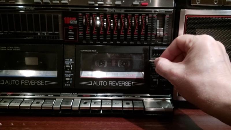 SHARP 939 устранение проблемы застрявшей кассеты в кассетоприемнике