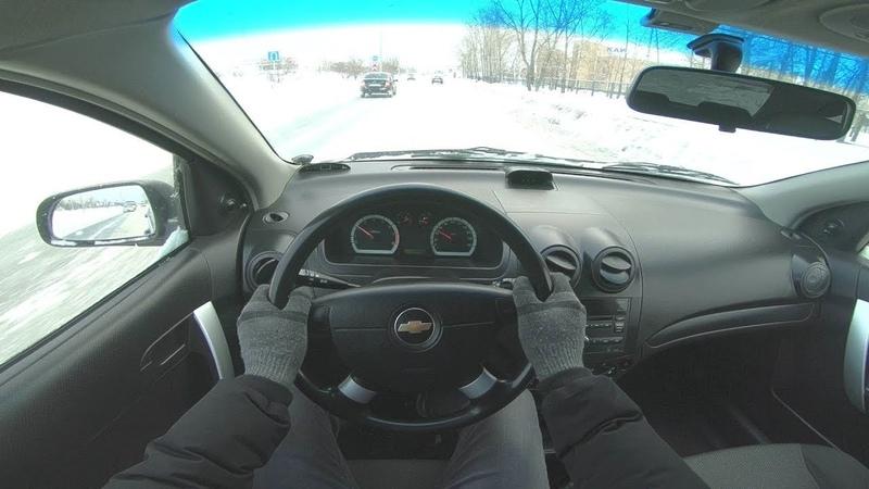 2011 Chevrolet Aveo 1.4L (94HP) POV TEST DRIVE