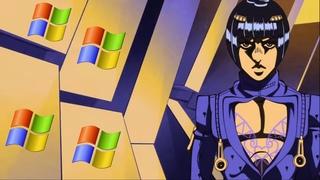 JoJo's Bizarre Adventure OP 9 | WINDOWS XP REMIX (「Fighting Gold」)