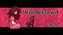 Wonderland MEME Sally Creepypasta Blood warning Amino Fan club