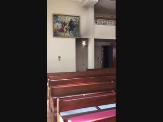 Армянская церковь 1980г шарджа ОАЭ