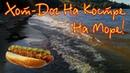 Хот-Дог на Костре у Озера - Поездка на Море на Велосипеде