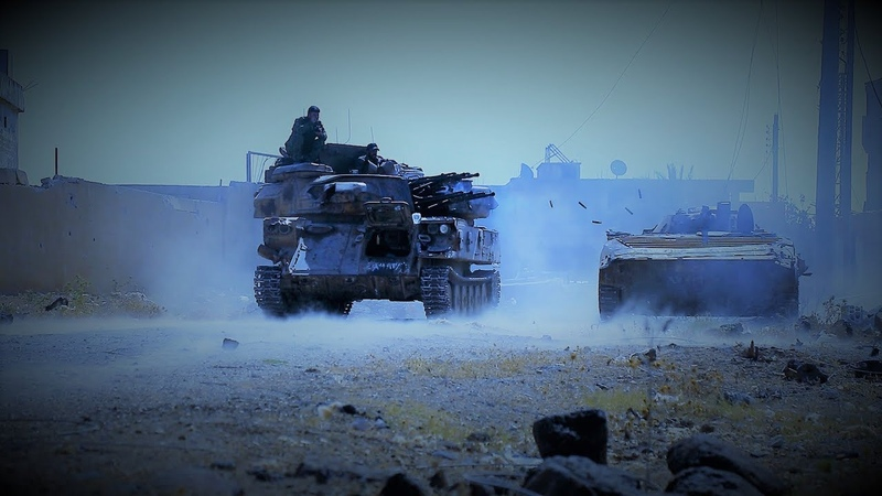 [Syria] ISIS suffers defeat in the Yarmouk valley | ИГИЛ терпит поражение в долине Ярмук