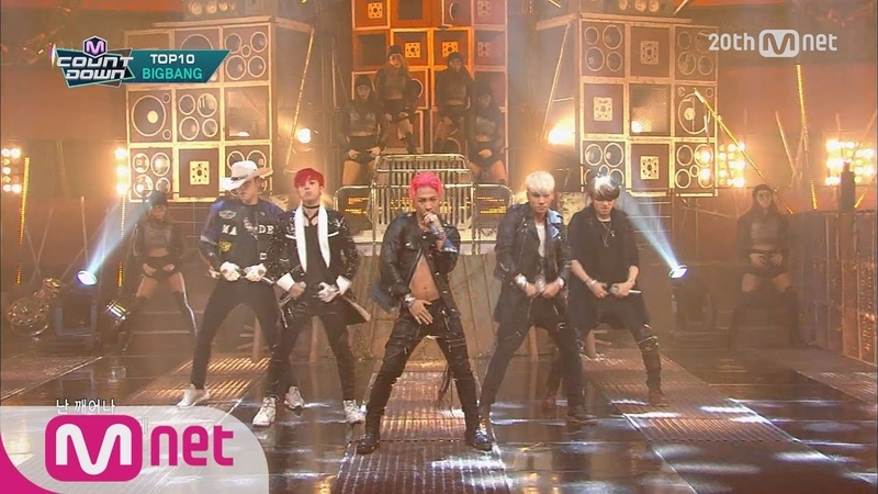 BIGBANG 'BANG BANG BANG 뱅뱅뱅 ' Replay M COUNTDOWN 150702 Ep 431