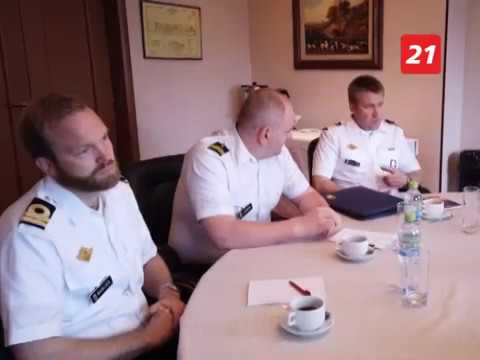 Наши пограничники обмениваются опытом с береговой охраной Норвегии
