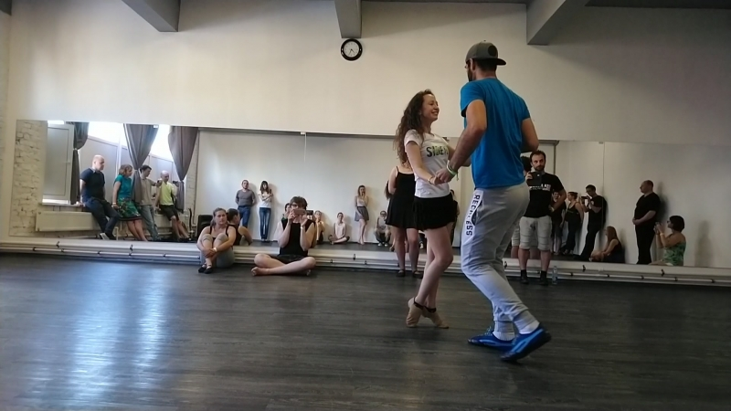Бруно и Настя - начинающие, танец (FORROaRU, 29.06.2018)