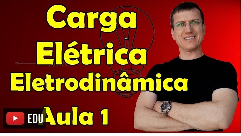 Carga Elétrica Eletrodinâmica Aula 1 Prof Marcelo Boaro