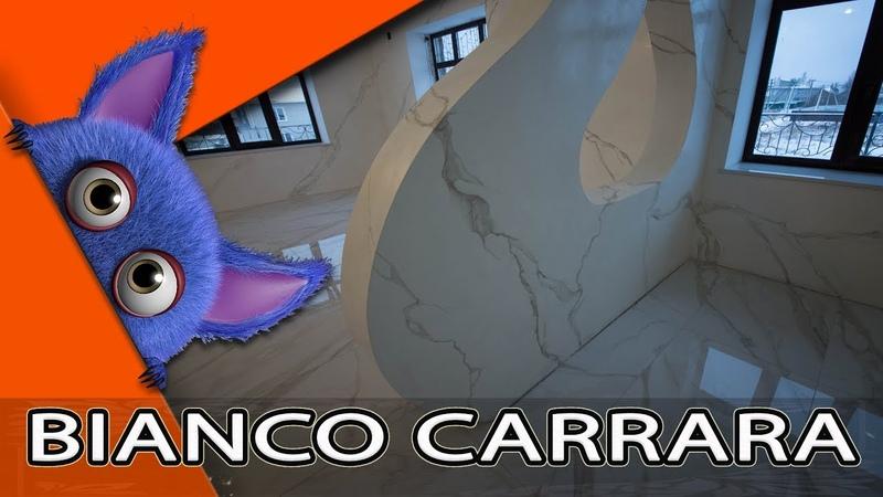Ювелирная Имитация Мрамора Bianco Carrara Из Венецианки Creama Bianco Stucco Veneziano WOWCOLOR