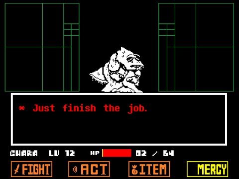 Undertale - Alphys Neo Fight - True Ending