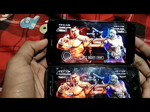 How to play Tekken 6 multiplayer on Android ( PPSSPP)