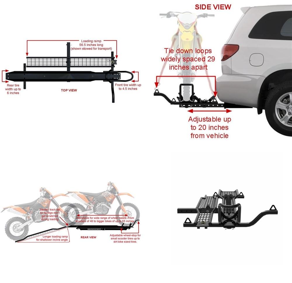 MotoTote MTX Sport - крепление для перевозки мотоциклов