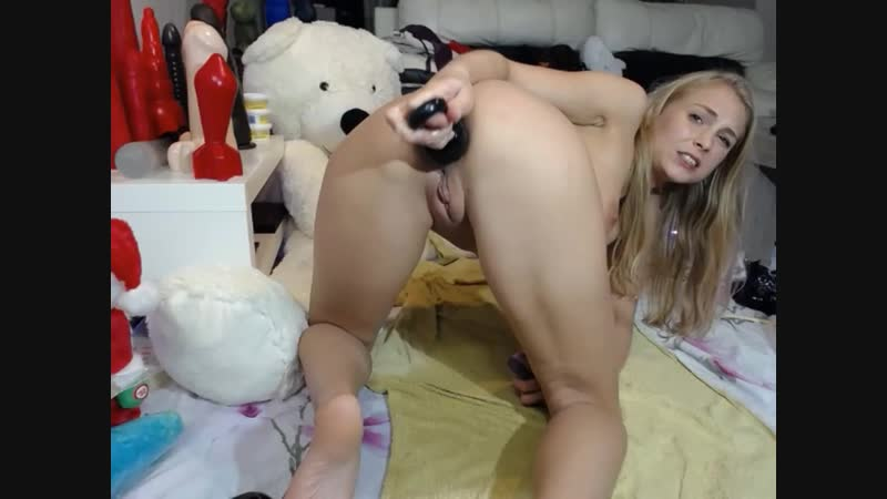 Siswet19 webcam show 2018 12 25 фистинг, анал, fisting, brutal dildo, extreme insertion, anal,