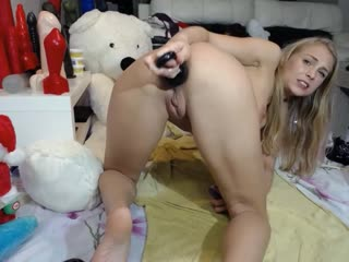 Siswet19 - webcam show 2018-12-25 [фистинг, анал, fisting, brutal dildo, extreme insertion, anal, gape, teen, webcam]