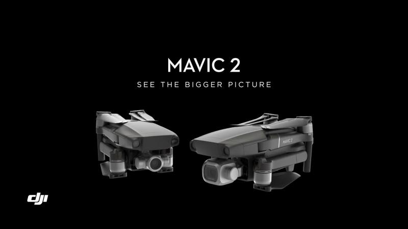 Транспортируйте себя с DJI Mavic 2