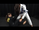Mayssa Bastos - De La Riva to leg-drag