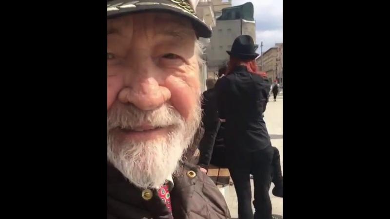 Дед Раскольникова про детство Раскола и парней которые красятся.