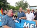 VOR ORT AKTUELL - MERKEL-MUSS-WEG-MITTWOCH VOM 11.JULI IN BERLIN. MIT S. DÄBRITZ , W. TAUFKIRCH ,...