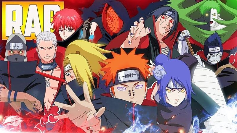 O RAP MAIS INSANO DA AKATSUKI | (Naruto Shippuden) | MHRAP