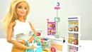 Кукла Барби в магазине. Видео для девочек с куклами