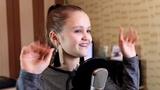 11 - летняя девочка перепела хит - Розовое вино ( Элджей &amp Feduk ) cover