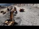 Bвод в эксплуатацию месторождение Гросс с годовой добычей 12 млн тонн золотоносной руды
