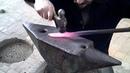 Ковка якутского ножа Часть первая