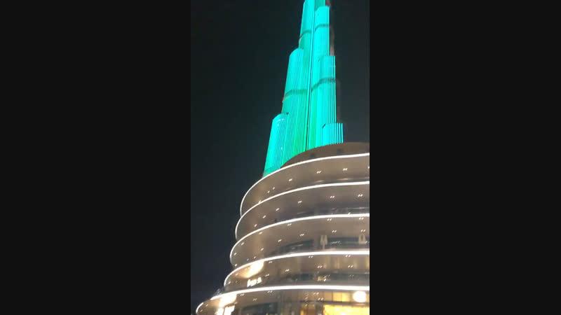 Дубай ноябрь 2018 Самая высокая башня