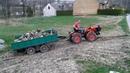 Traktorek Tz4k14 Ciężki wyjazd