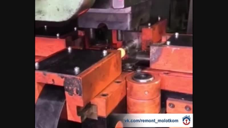 Как делают крестовину для труб на заводе 😊✊🏻