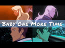 Voltron. Legendary Defender AMV Britney Spears - Baby One More Time. Klance Lotura