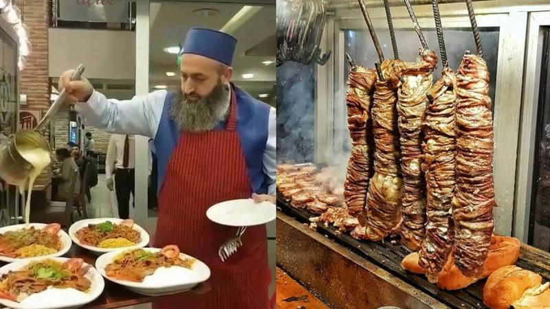 Супер еда Стамбула Уличная еда Турции 2018 Mega food Turkey Street food Istanbul