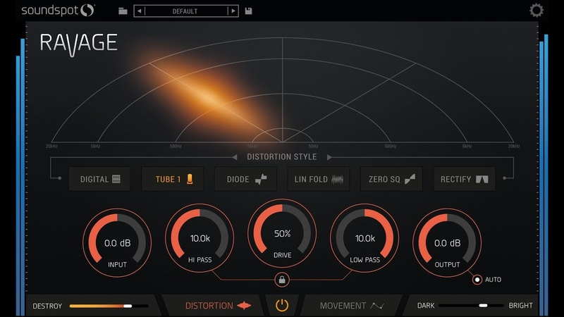 SoundSpot Ravage Creative Distortion OUT NOW VST Ableton Logic FL Studio