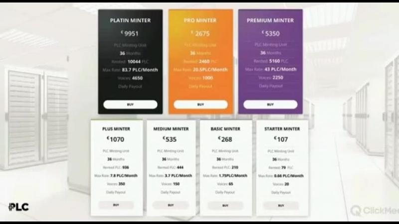 PlatinCoin ВЫГОДА продуктов компании Что такое Минтинг Юнит как он работает