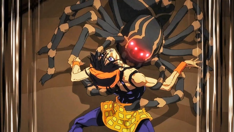 Narancia vs Thicc Spider - JoJo's Bizarre Adventure Part 5: Golden Wind Ep 11