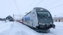 Train Driver's View: Jingle all the way from Voss to Ål