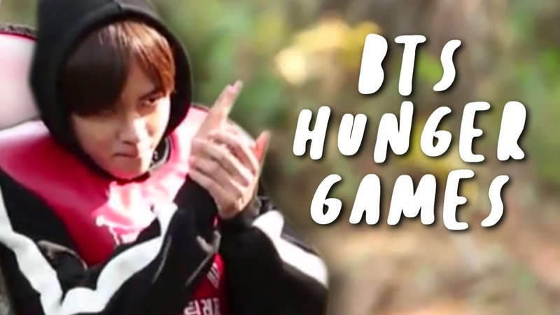 Hunger games simulator with BTS