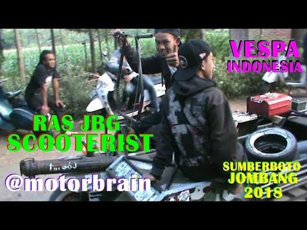 Persiapan Acara Anak Vespa RAS JBG SCOOTERIST Di Sumberboto Jombang