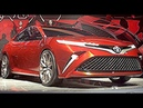All new Toyota Camry 2017, 2018 model - official premier Toyota Fun 2017 - 2018