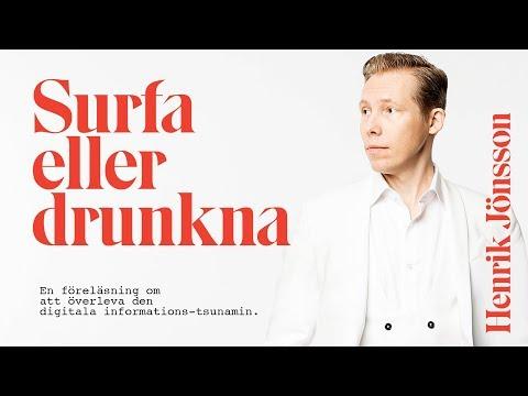 LIVE - FÖRELÄSNING: Surfa eller drunkna