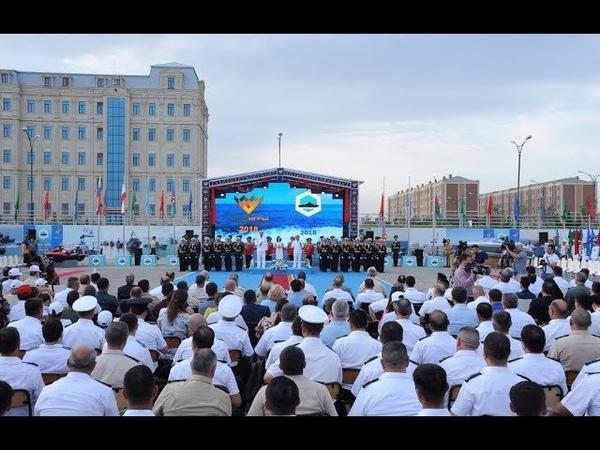 """Bakıda Dəniz Kuboku 2018"""" beynəlxalq yarışlarının təntənəli açılış mərasimi keçirilib 31 07 2018"""