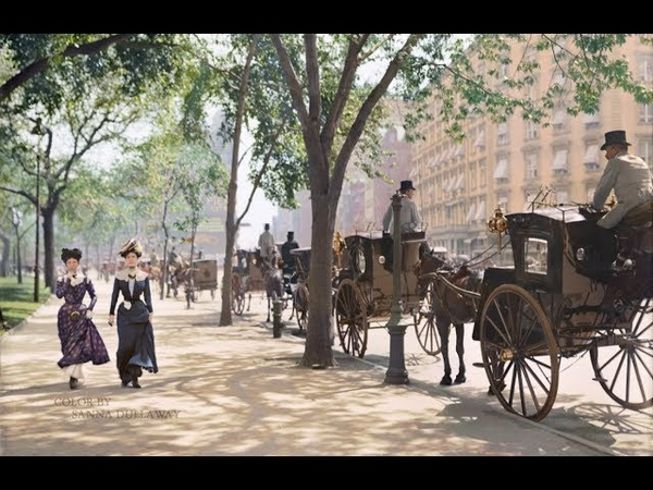 New York City 1900 In Color