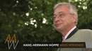 Hans-Hermann Hoppe: What Marx Gets Right