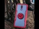 Diamond Bracket Tempered Glass Telefon Case