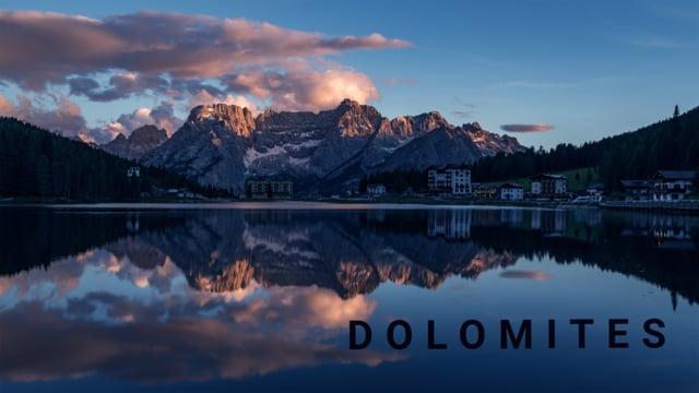 Dolomites - a timelapse adventure