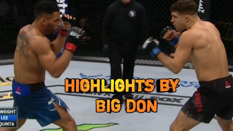 Kevin Lee vs Al Iaquinta 2 - Full Fight Highlight/Лучшие моменты боя